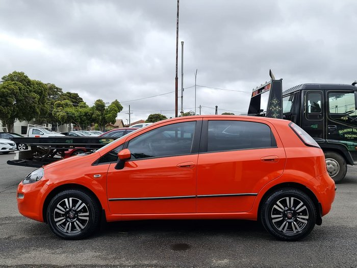 2013 Fiat Punto Easy MY13 Orange