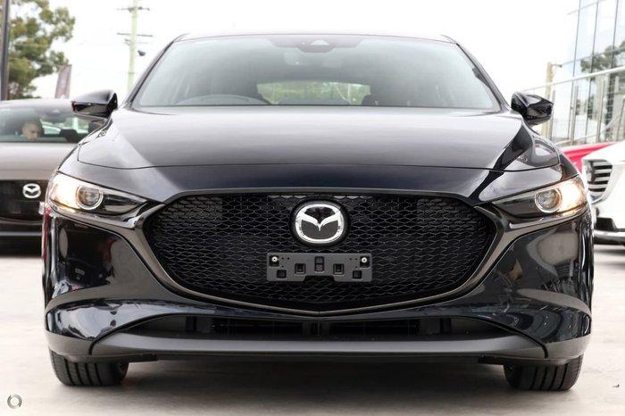 2020 Mazda 3 G25 GT BP Series Jet Black