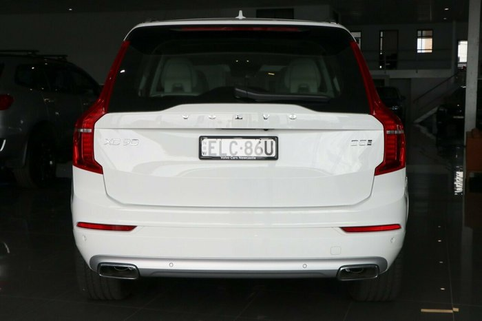 2020 Volvo XC90 D5 Momentum MY20 AWD Ice White Solid