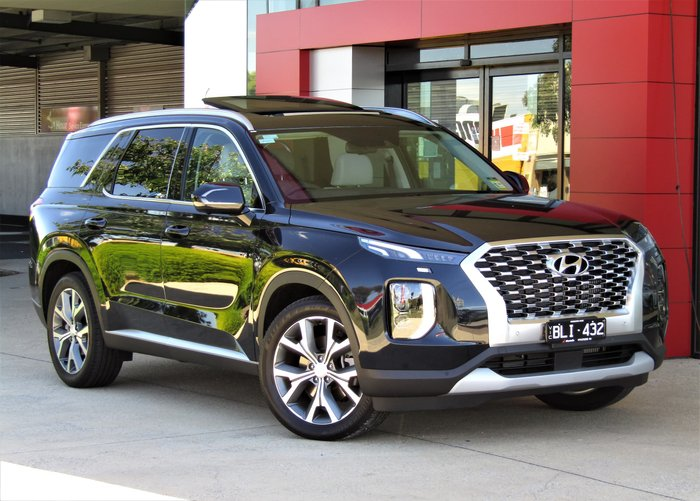 2020 Hyundai Palisade Highlander LX2.V1 MY21 4X4 On Demand Moonlight Cloud