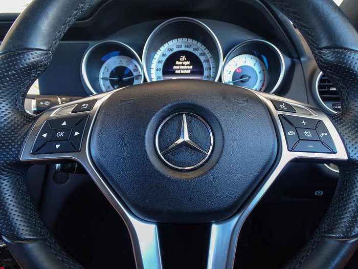 2015 Mercedes-Benz C-Class C250 Avantgarde C204 White