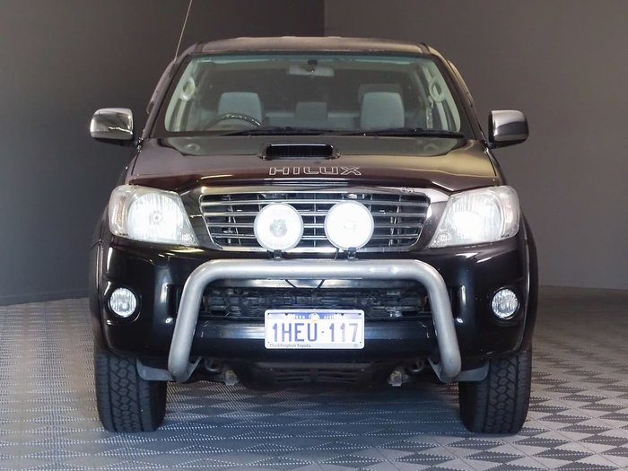 2010 Toyota Hilux SR5 KUN26R MY10 4X4 Black