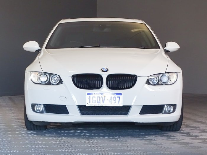 2008 BMW 3 Series 325i E92 MY08 White