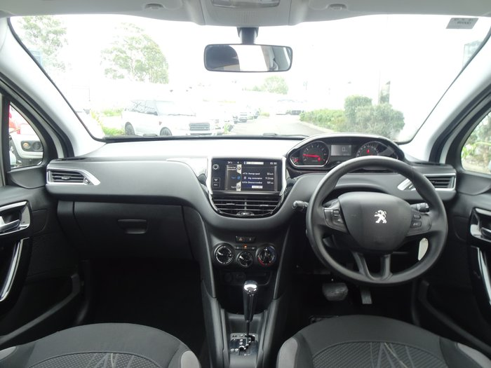 2014 Peugeot 208 Active A9 MY13 Bianca White