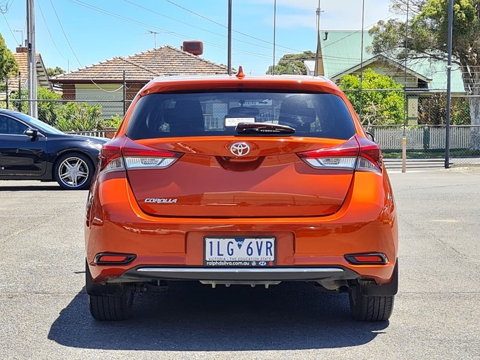 2016 Toyota Corolla Ascent Sport ZRE182R Orange