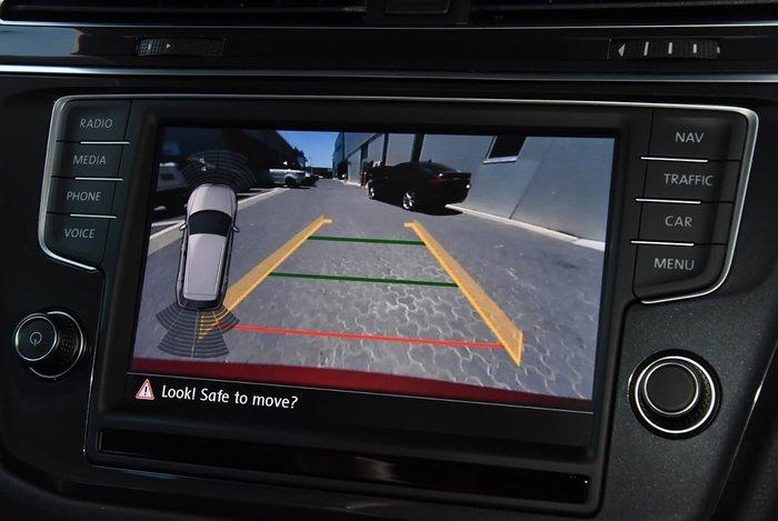 2016 Volkswagen Tiguan 132TSI Comfortline 5N MY17 Four Wheel Drive Red