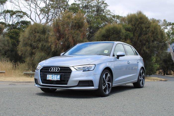 2019 Audi A3 35 TFSI 8V MY20 Silver