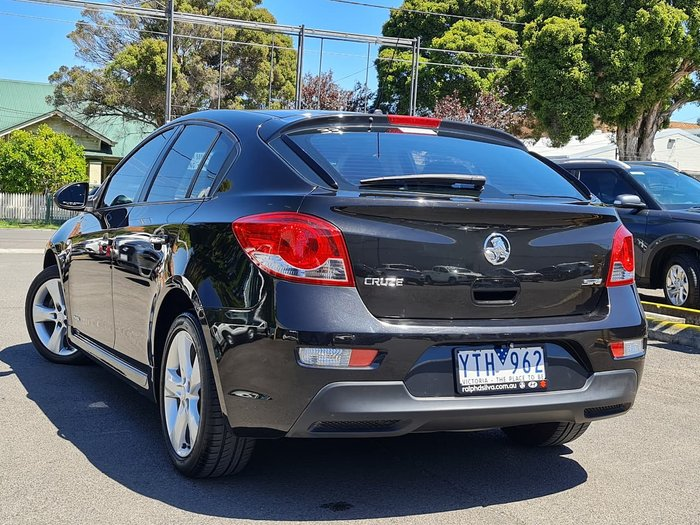 2011 Holden Cruze SRi JH Series II MY12 Black