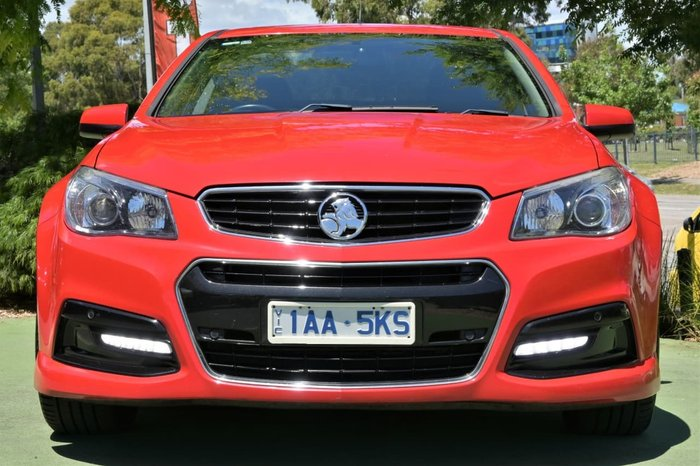 2013 Holden Ute SV6 VF MY14 Red