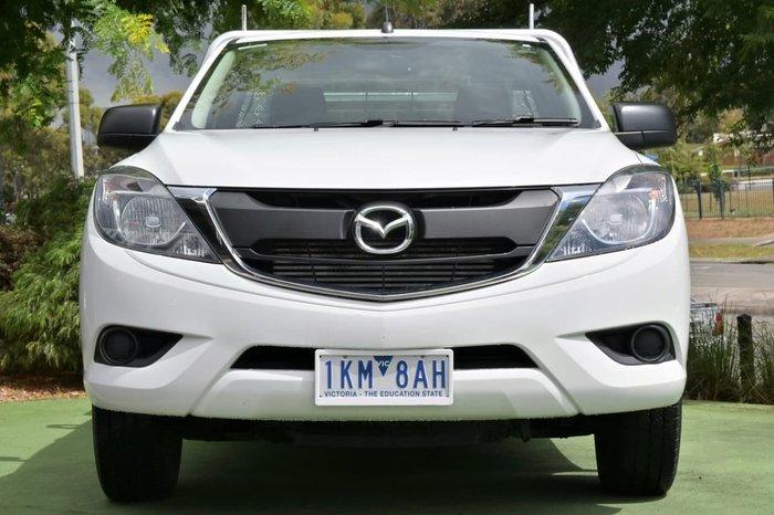 2017 Mazda BT-50 XT UR White