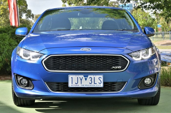 2016 Ford Falcon XR6 FG X Blue