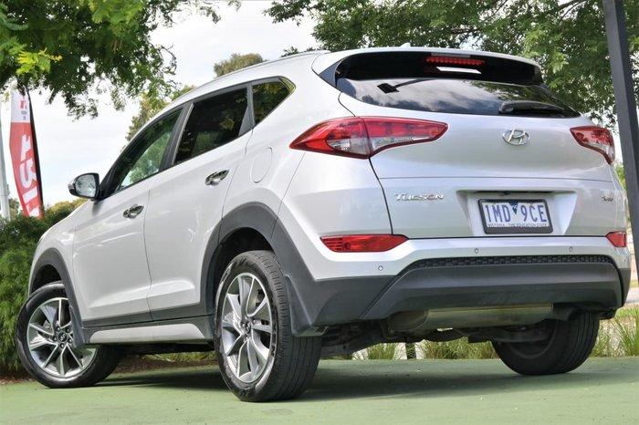 2018 Hyundai Tucson Elite TL2 MY18 4X4 On Demand Silver