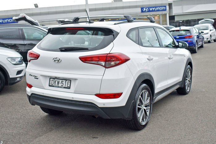 2016 Hyundai Tucson Active X TL MY17 Pure White