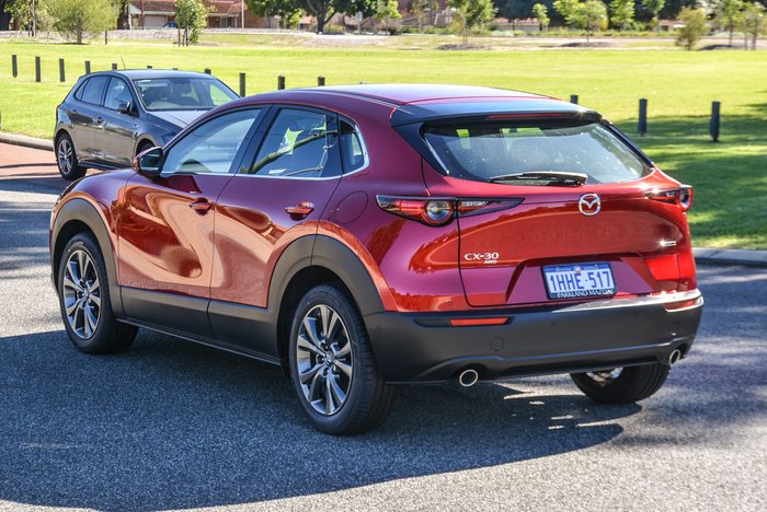 2020 Mazda CX-30 G25 Astina DM Series AWD Soul Red Crystal