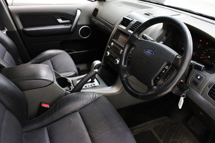 2008 Ford Territory TX SY Blue