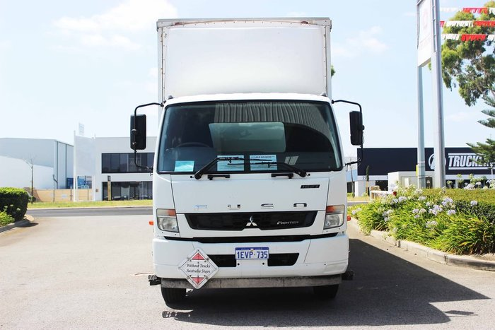 2015 FUSO FIGHTER WHITE