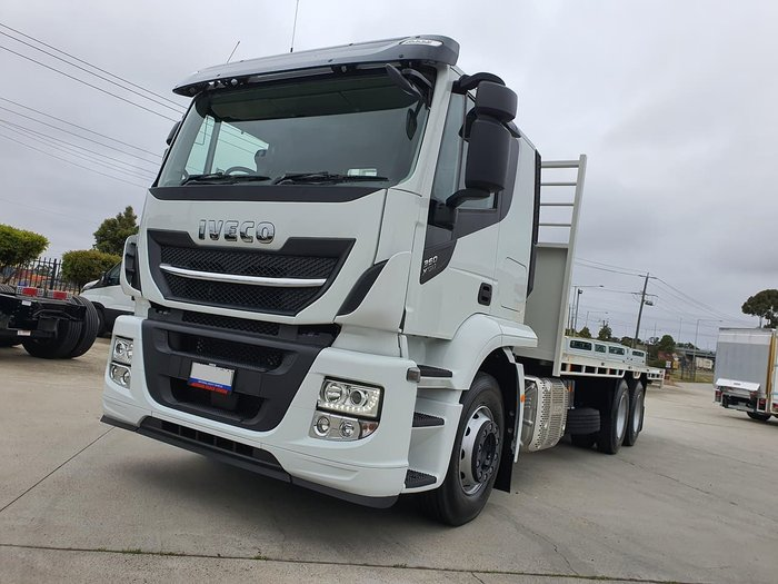 2020 IVECO XWAY AT 360 6X4 TIPPING TRAY white