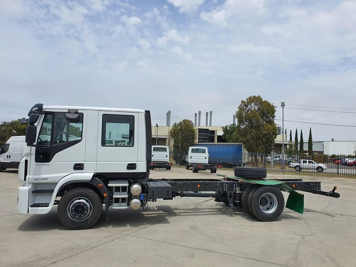 2020 IVECO ML140 DUAL CAB White
