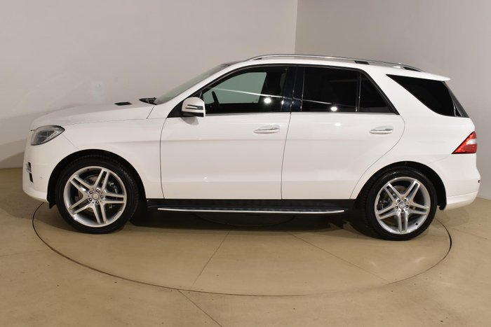 2015 Mercedes-Benz M-Class ML350 BlueTEC W166 MY15 4X4 Constant White