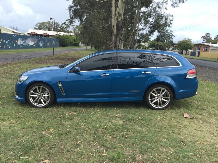 2014 Holden Commodore SS V Redline VF MY14 Perfect Blue