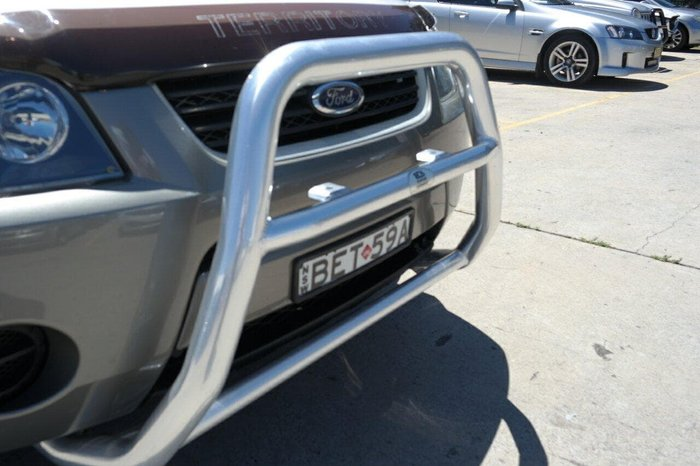 2007 Ford Territory TX SY White
