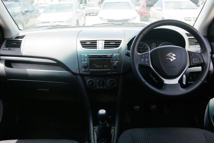 2014 Suzuki Swift GL FZ MY14 White