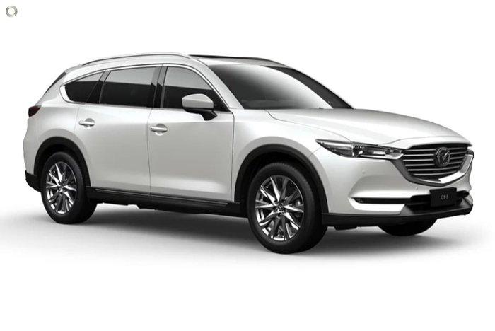 2020 Mazda CX-8 Asaki KG Series White