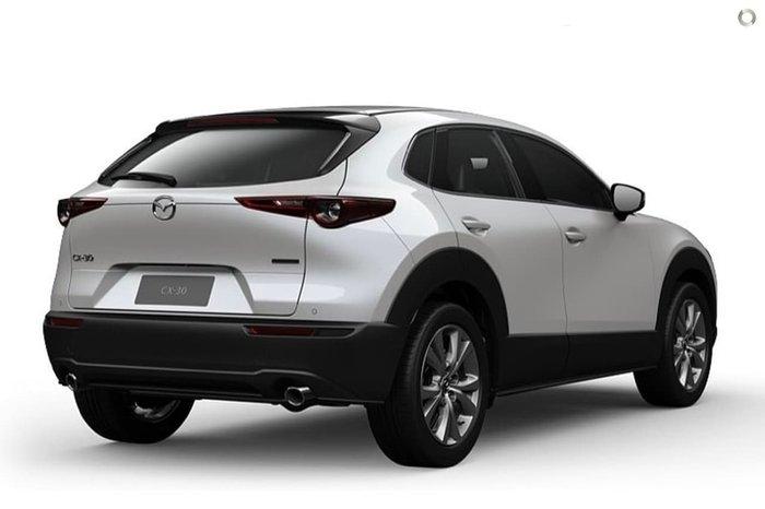 2020 Mazda CX-30 G25 Touring DM Series 4X4 On Demand White