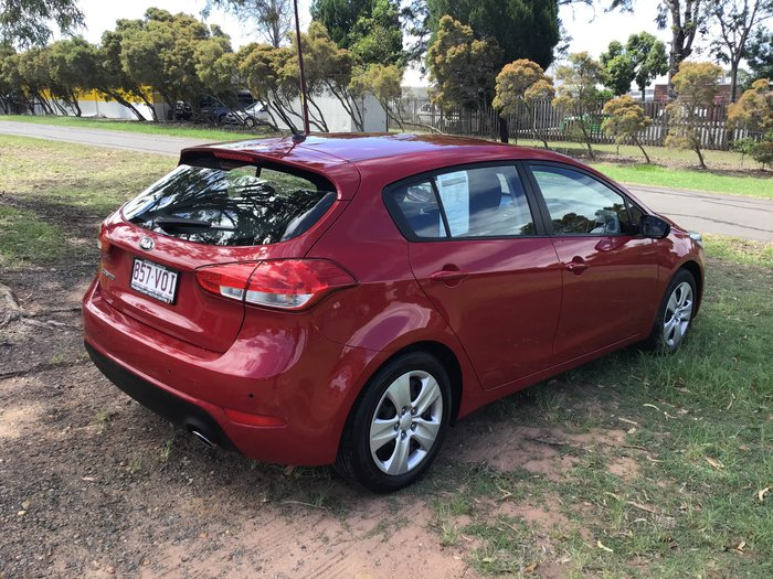 2015 Kia Cerato S YD MY15 Temptation Red