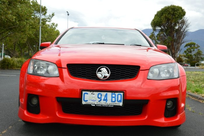 2011 Holden Commodore SV6 VE Series II RED