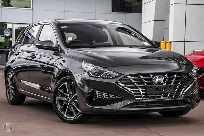 2020 Hyundai i30 Elite PD.V4 MY21 Amazon Gray