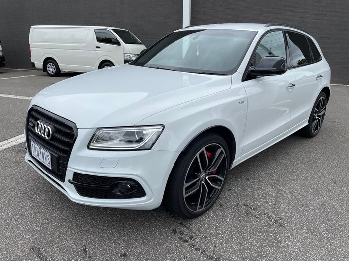 2016 Audi SQ5 plus TDI 8R MY16 Four Wheel Drive Glacier White