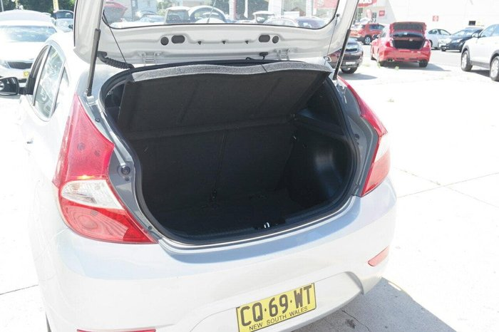 2013 Hyundai Accent Active RB Silver