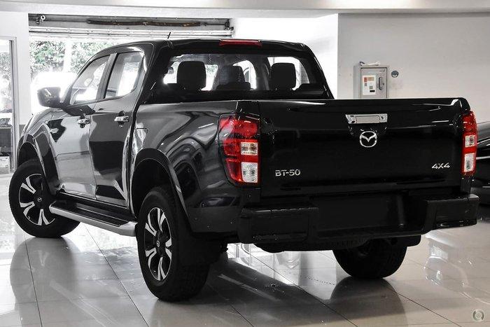2020 Mazda BT-50 XTR TF 4X4 Dual Range Black