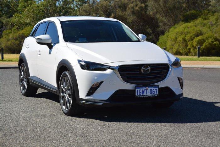 2019 Mazda CX-3 Akari LE DK 4X4 On Demand White