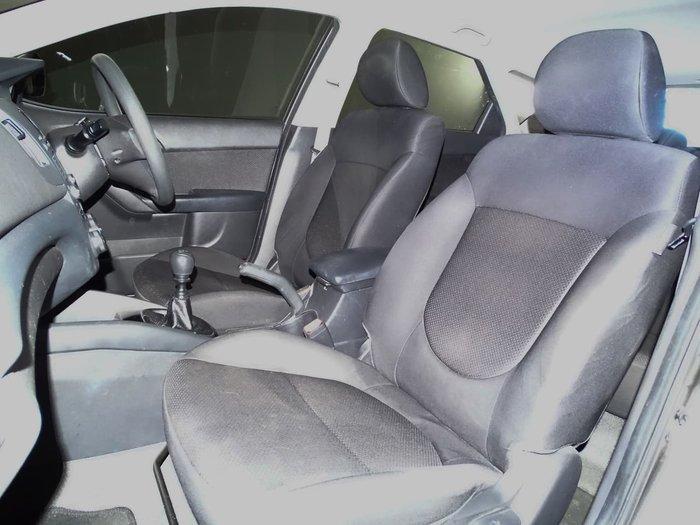 2012 Kia Cerato S TD MY12 Silver