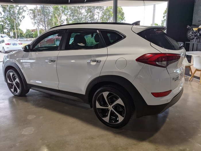 2016 Hyundai Tucson Highlander TLe MY17 4X4 On Demand White