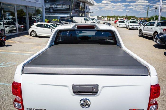 2018 Holden Colorado Z71 RG MY19 4X4 Dual Range White