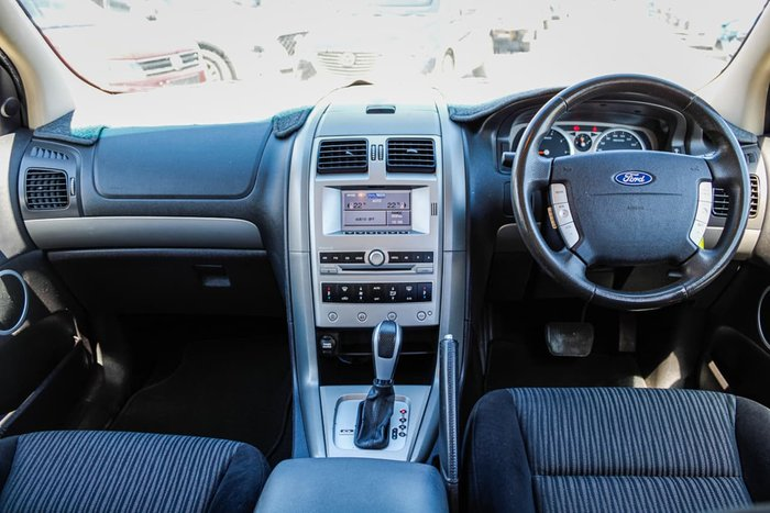 2010 Ford Territory TS SY MKII Silver