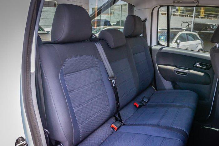 2018 Volkswagen Amarok TDI550 Sportline 2H MY19 4X4 Constant White