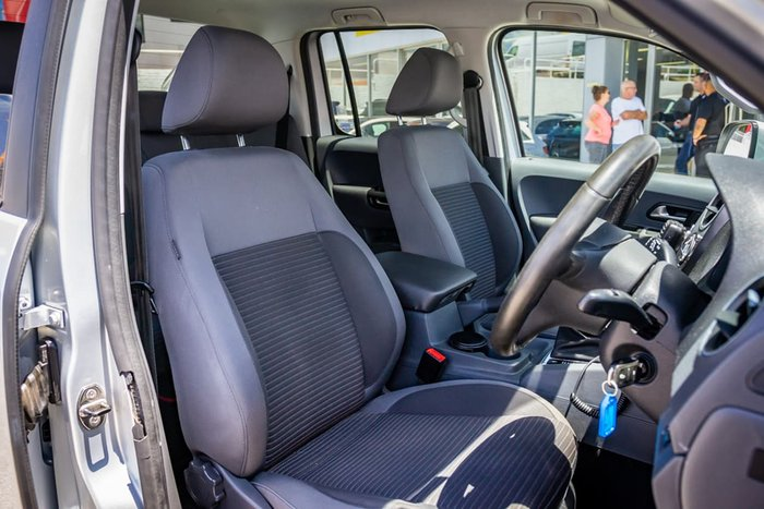 2015 Volkswagen Amarok TDI400 Highline 2H MY16 4X4 Dual Range Silver