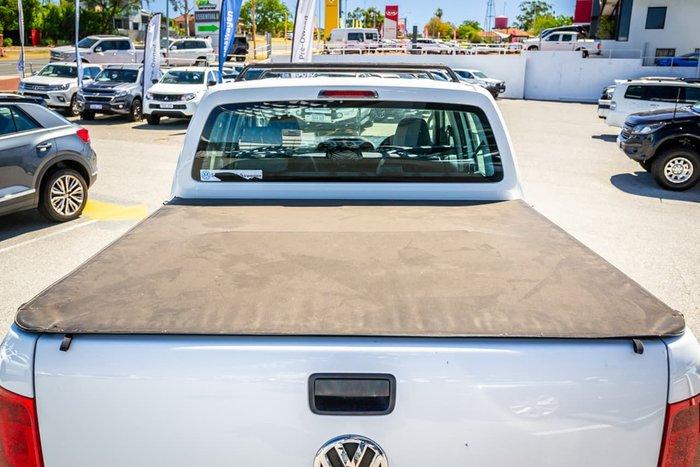 2013 Volkswagen Amarok TDI400 Trendline 2H MY14 4X4 Dual Range White