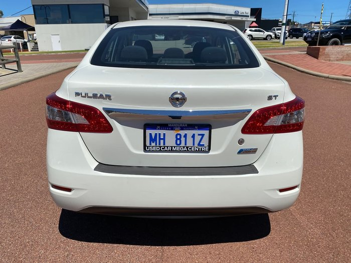 2015 Nissan Pulsar ST B17 Series 2 White