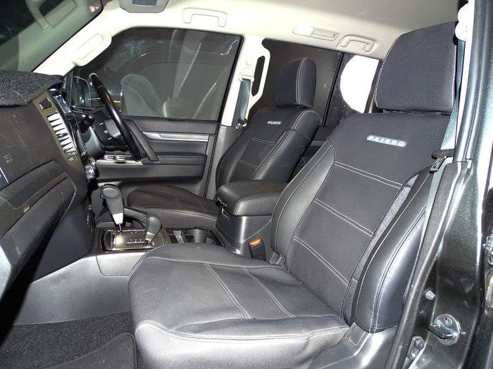 2017 Mitsubishi Pajero GLS NX MY17 4X4 Dual Range Grey