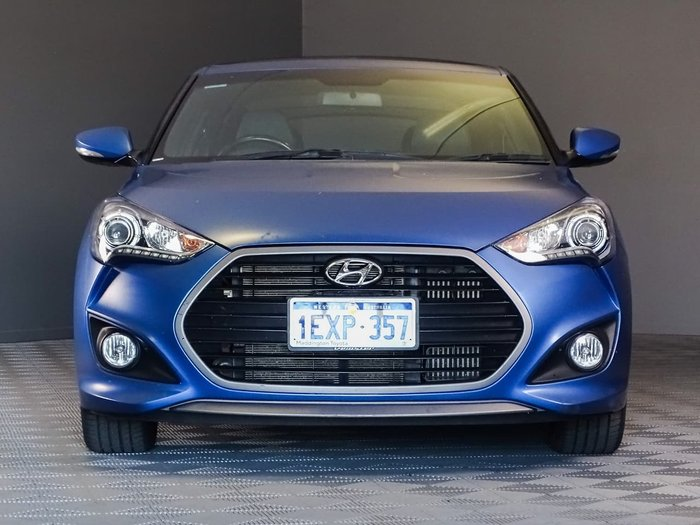 2015 Hyundai Veloster SR Turbo FS4 Series II Blue