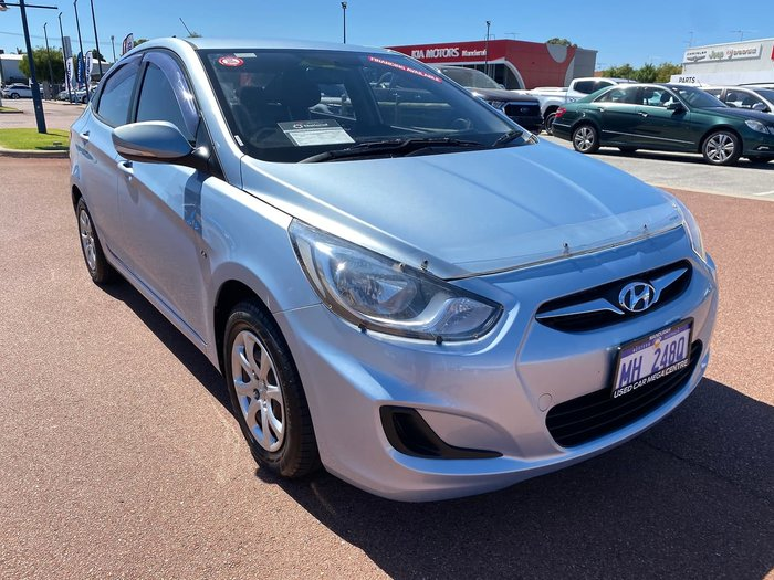 2012 Hyundai Accent Active RB Blue