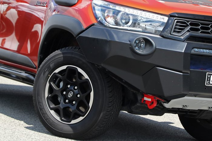2019 Toyota Hilux Rugged X GUN126R 4X4 Dual Range Orange