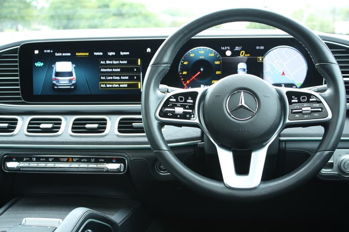 2019 Mercedes-Benz GLE-Class GLE300 d V167 Four Wheel Drive Silver
