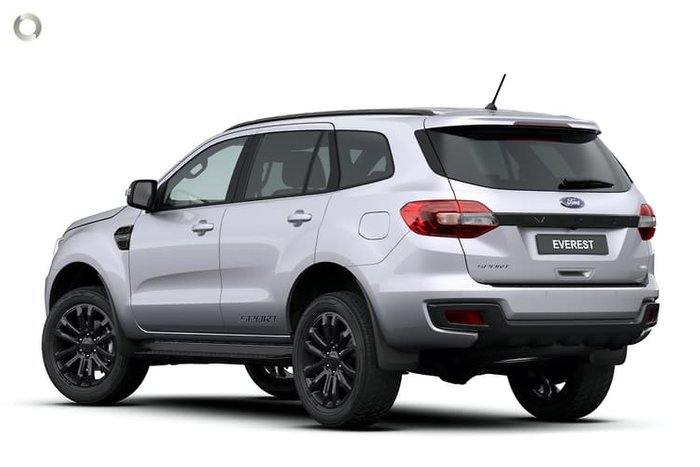 2020 Ford Everest Sport UA II MY21.25 4X4 Dual Range Silver