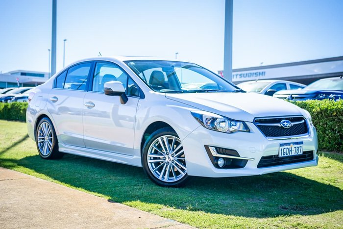 2015 Subaru Impreza 2.0i-S G4 MY16 Four Wheel Drive White